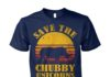 Save the chubby unicorn unisex cotton tee