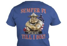 Semper FI Devil Dog Till I Die shirt