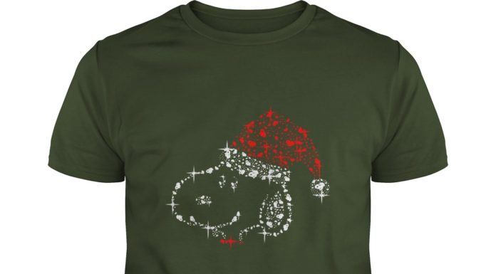 Snoopy Christmas Glitter shirt