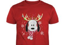 Snoopy Reindeer Christmas shirt