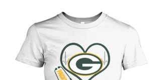 Stethoscope nurse Green Bay Packers women shirt