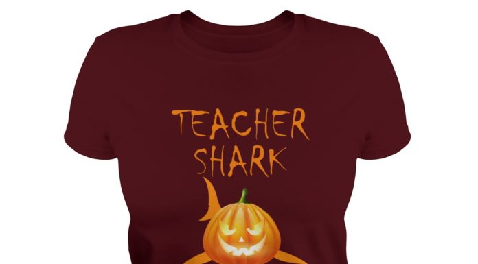 Teacher Shark boo boo boo Halloween shirt