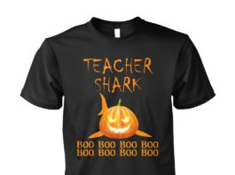 Teacher Shark boo boo boo Halloween unisex shirt