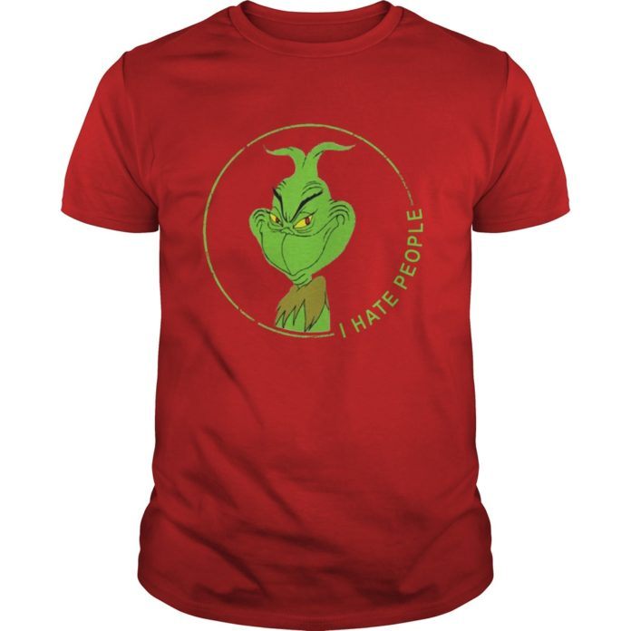 The Grinch I Hate People shirt