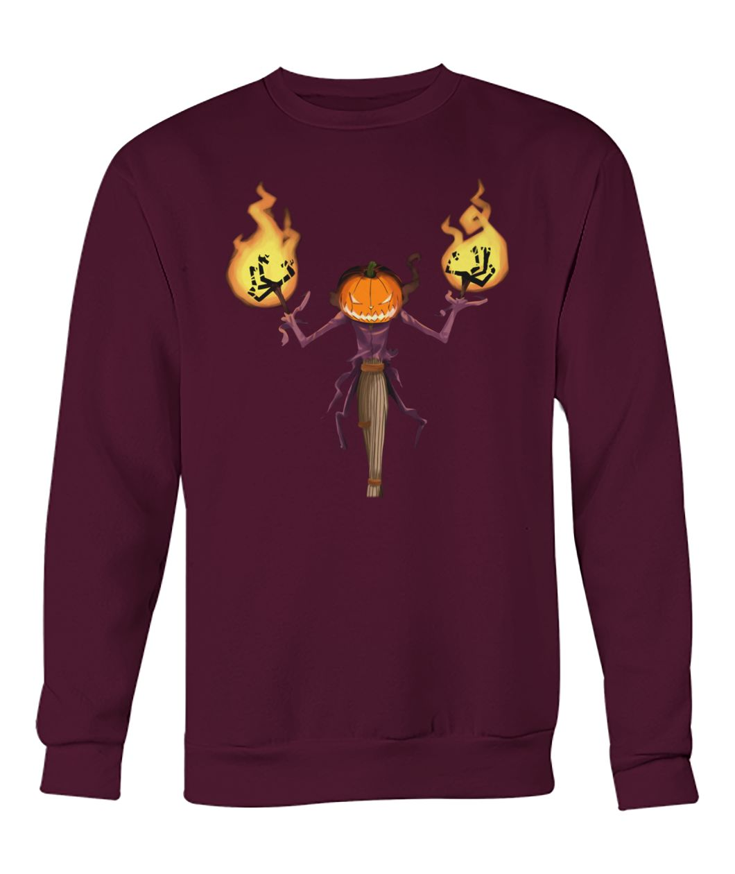 The Pumpkin King crew neck sweatshirt