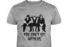 Tim Burton Jack Skellington Johnny Depp You can't sit with us shirt