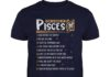 Top 10 rules of pisces give respect get respect shirt