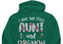 I have two titles aunt and dogmom and I rock them both floral