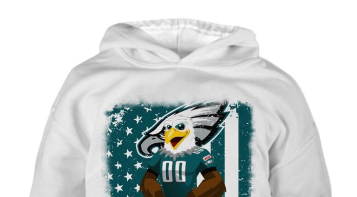 Philadelphia eagles mascot flag