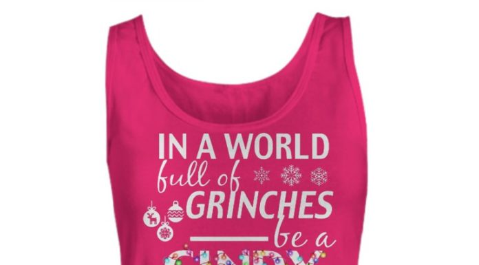In a world full of grinches be a cindylou who