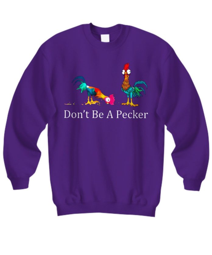 Don't be a becker Hei Hei the Rooster Moana