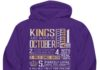 King are born in october