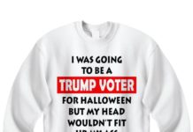 I was going to be a Trump voter for halloween before but my head wouldn't fit up my ass