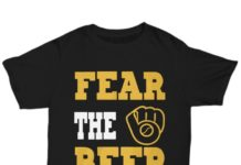 Fear the beer Milwaukee brewer