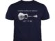Whisper words of wisdom let it be guitar shirt