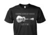 Whisper words of wisdom let it be nature guitar unisex shirt