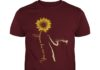 You are my sunshine sunflower cat shirt