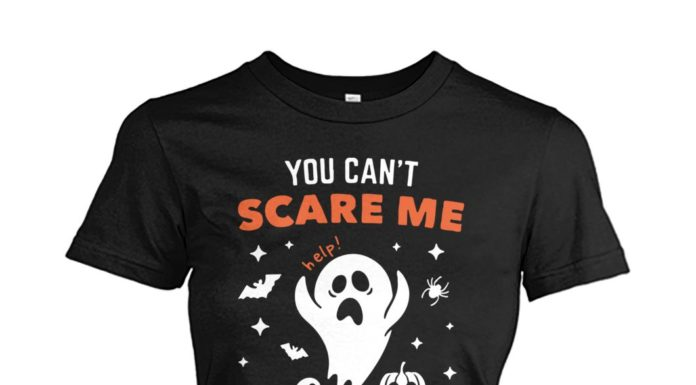 You can't scare me I have a crazy bestie women shirt