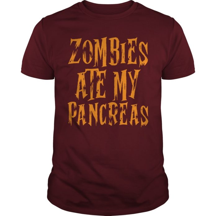 Zombies ate my pancreas shirt