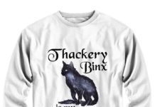 Thackery binx is my spirit animal Hocus Pocusshirt