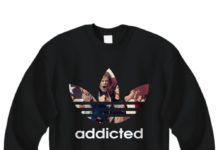 Shameless addicted Adidas