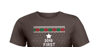 2018 first Christmas with my hot new fiance shirt