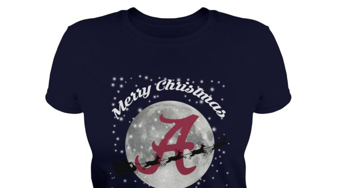 Alabama Crimson Tide Merry Christmas to All and to All A Roll Tide shirt