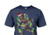 Bigfoot Santa Christmas shirt