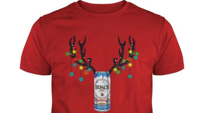 Busch Beer Reinbeer Christmas shirt