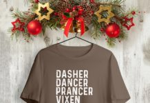 Dasher dancer prancer vixen tequila rum vodka and whiskey shirt