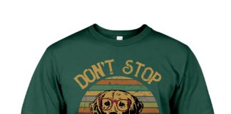Don't stop retrieving shirt