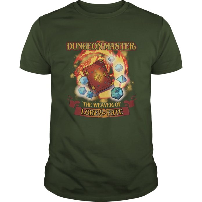 Dungeon Master The Weaver of Lore and Fate shirt
