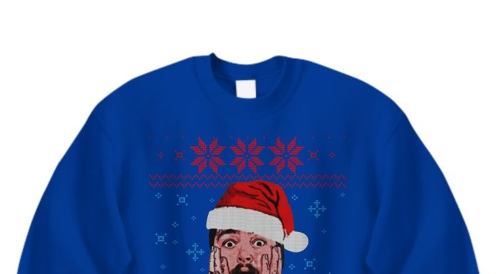 Home Malone Post Malone Ugly Christmas Sweater