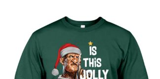 Krueger is this jolly enough shirt