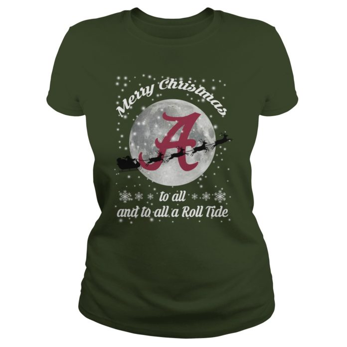 Merry Christmas to all and to all a Roll Tide Alabama Crimson Tide