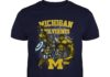 Michigan Wolverines All Marvel Avengers shirt