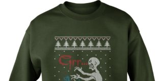 Mutant Enemy Grr Argh Ugly Christmas Sweater