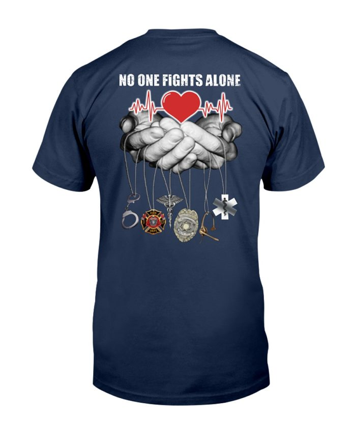 Nurse no one fights alone shirt