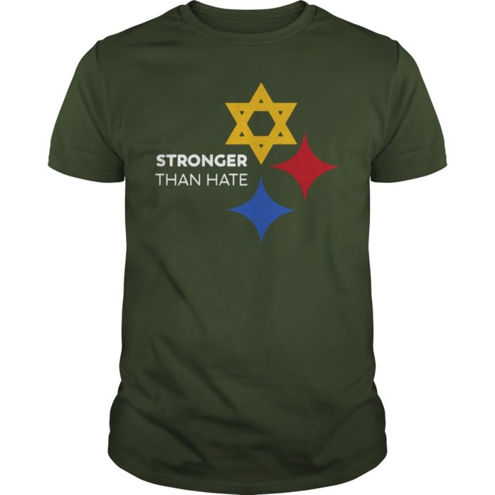 Pittsburgh Steelers Stronger Than Hate shirt