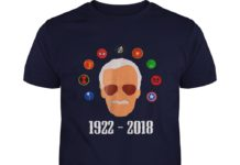 RIP Stan Lee 1922 2018 shirt