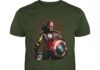 Stan Lee Marvel All Avengers Heroes In One shirt