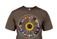 Sunflower guitar give me the beat boys and free my soul shirt