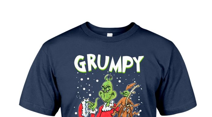 The Grinch and Max grumpy but lovable shirt
