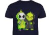 Baby Grinch and Jack Skellington shirt