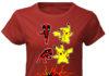Deadpool And Pikachu Fusion Dance Pikapool Deadchu shirt