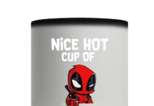 DEADPOOL NICE HOT CUP OF FUCKOFFEE MUG