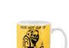 Death Nice hot cup of fuckoffee psychotic mug