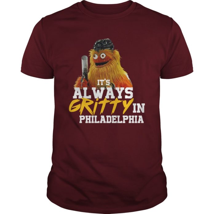 It's always gritty in Philadelphia hockey mascot shirt