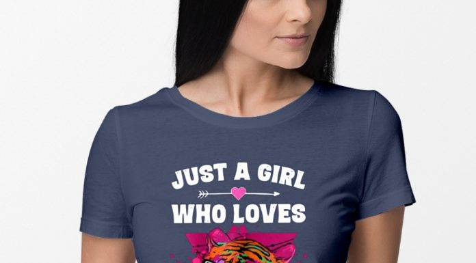 Just a Girl Who loves Tigers shirt