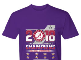 Southeastern conference alabama crimson tide roster 2018 shirt